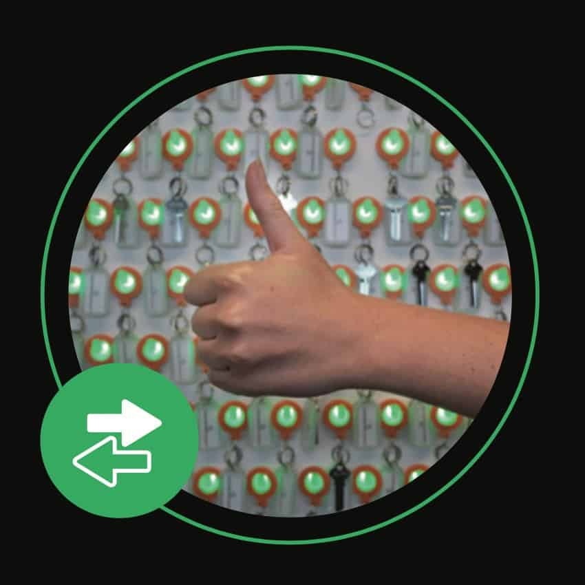 Key tracking device